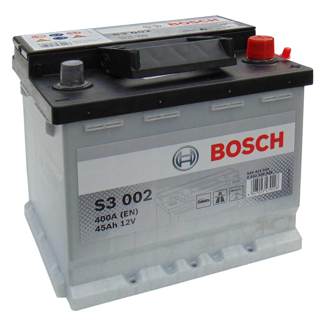 Bosch S3 akkumulátor, 12V 45Ah 400A EU J+, 0092S30020, magas