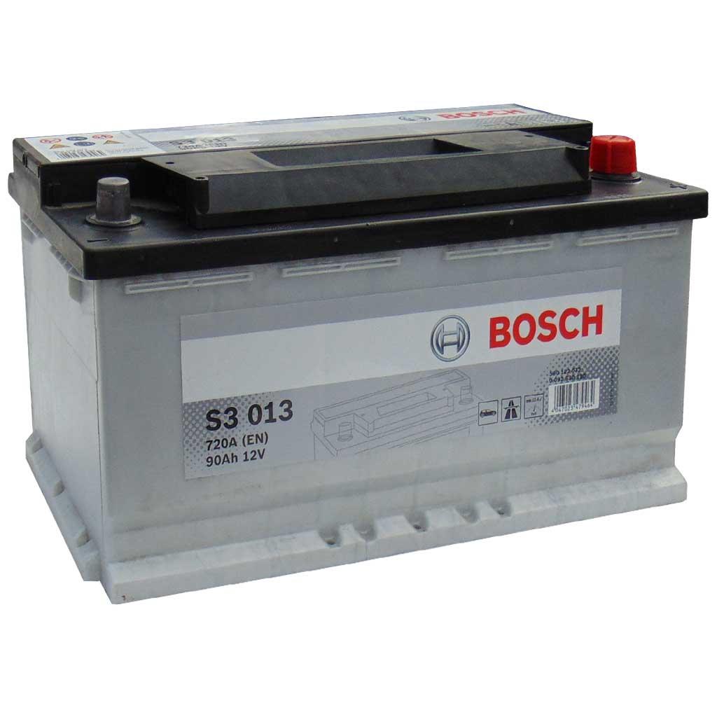 Bosch S3 akkumulátor, 12V 90Ah 720A EU J+, 0092S30130, magas