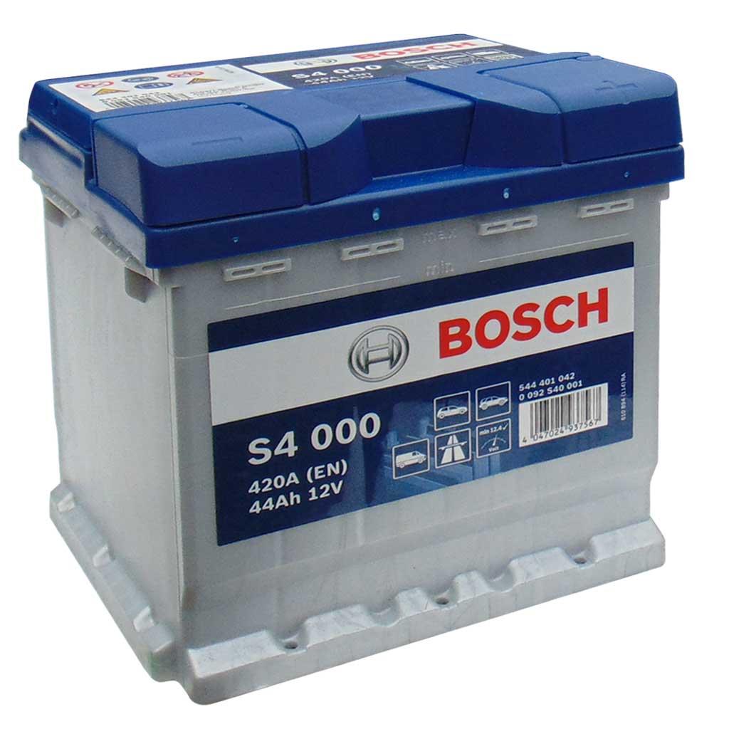 Bosch Silver S4 akkumulátor, 12V 44Ah 420A, 0092S40001 Punto