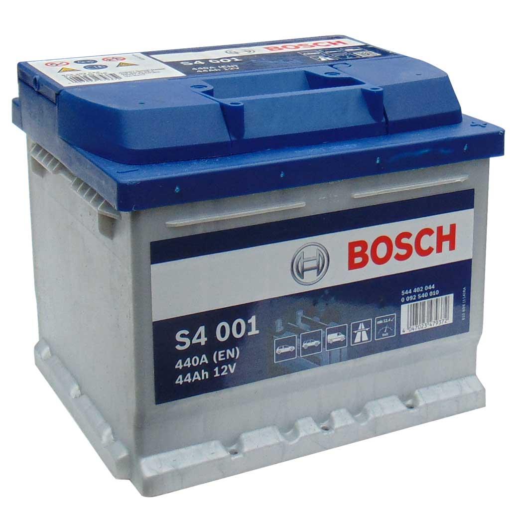 Bosch Silver S4 akkumulátor, 12V 44Ah 440A, 0092S40010, alacsony