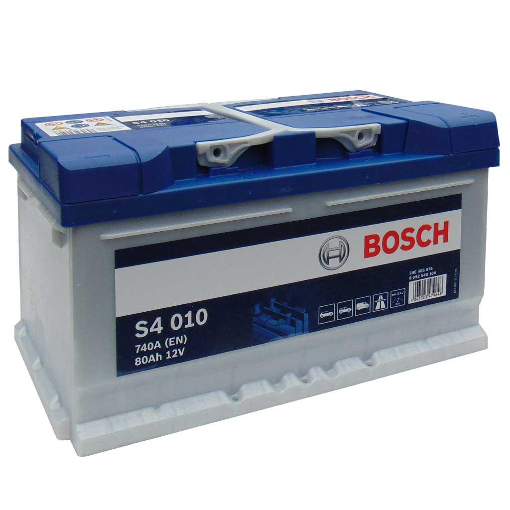 Bosch Silver S4 akkumulátor, 12V 80Ah 740A, 0092S40100, alacsony