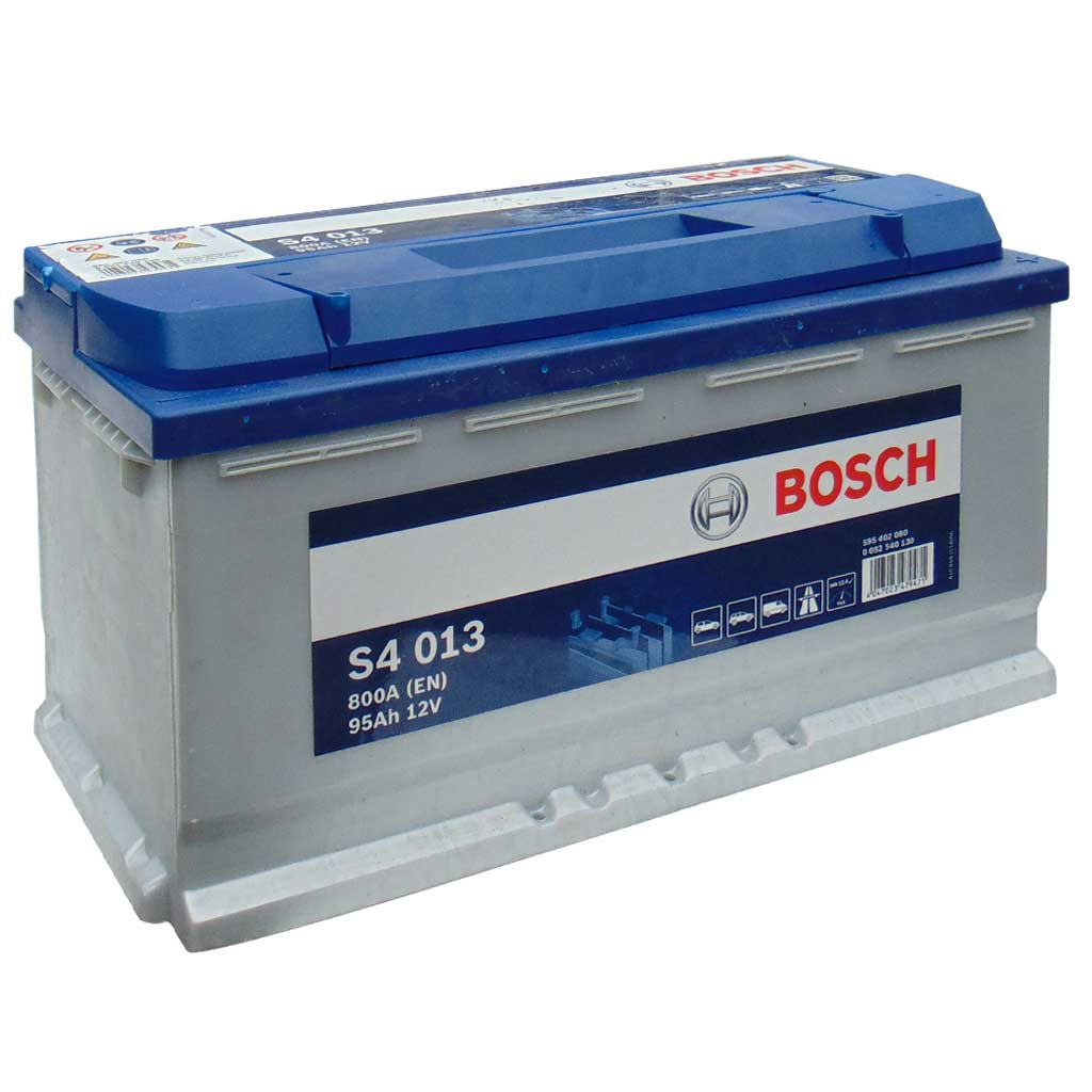 Bosch Silver S4 akkumulátor, 12V 95Ah 800A, 0092S40130, magas