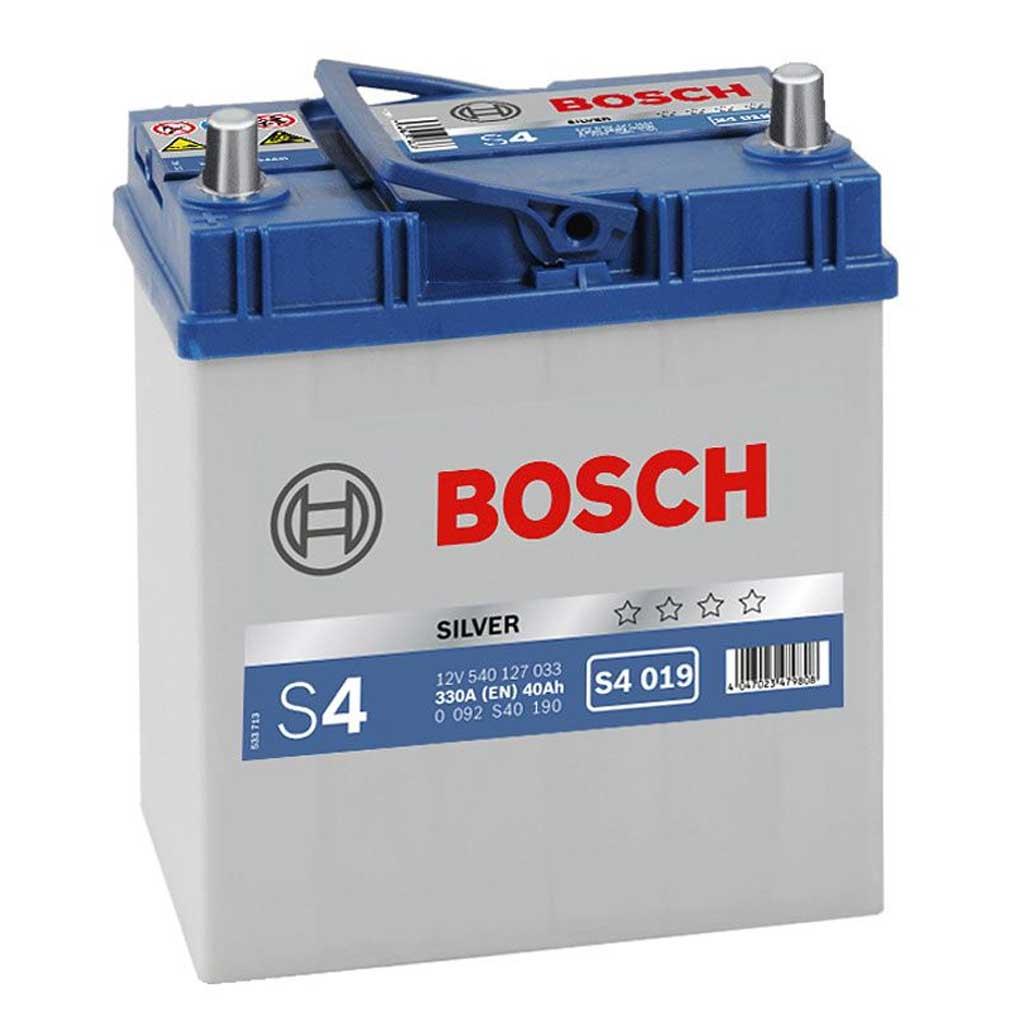Bosch Silver S4 akkumulátor, 12V 40Ah 330A japán B+, 0092S40190