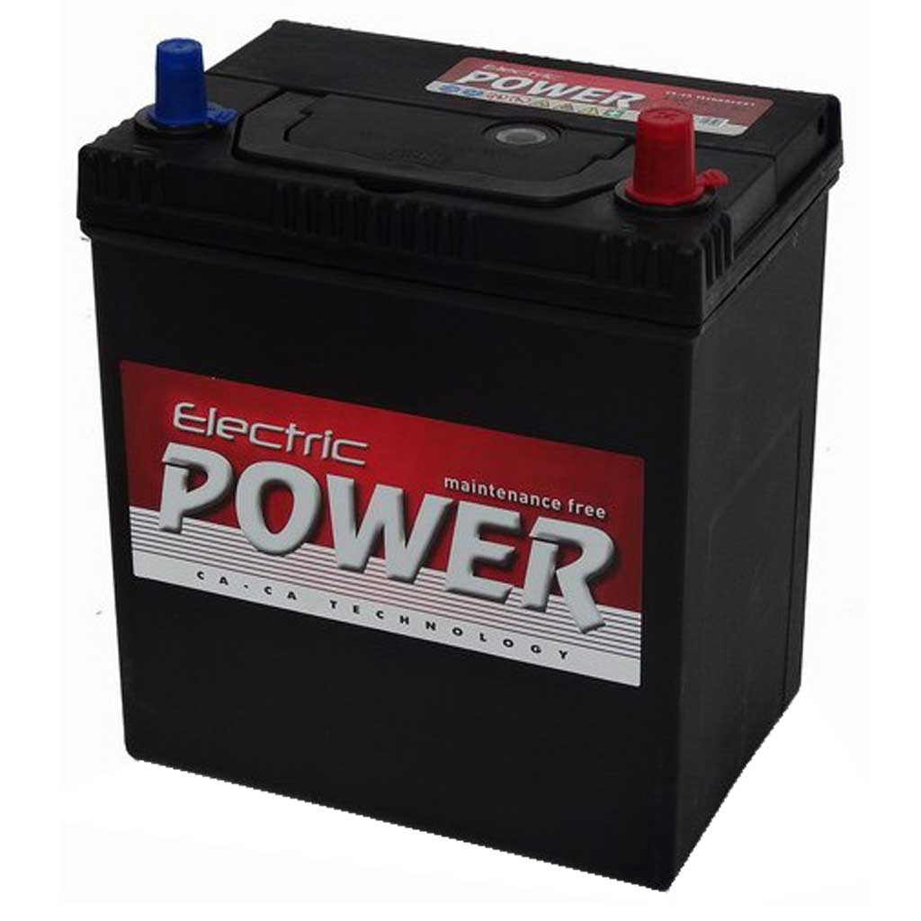 Electric Power akkumulátor, 12V 40Ah 300A J+ Japán