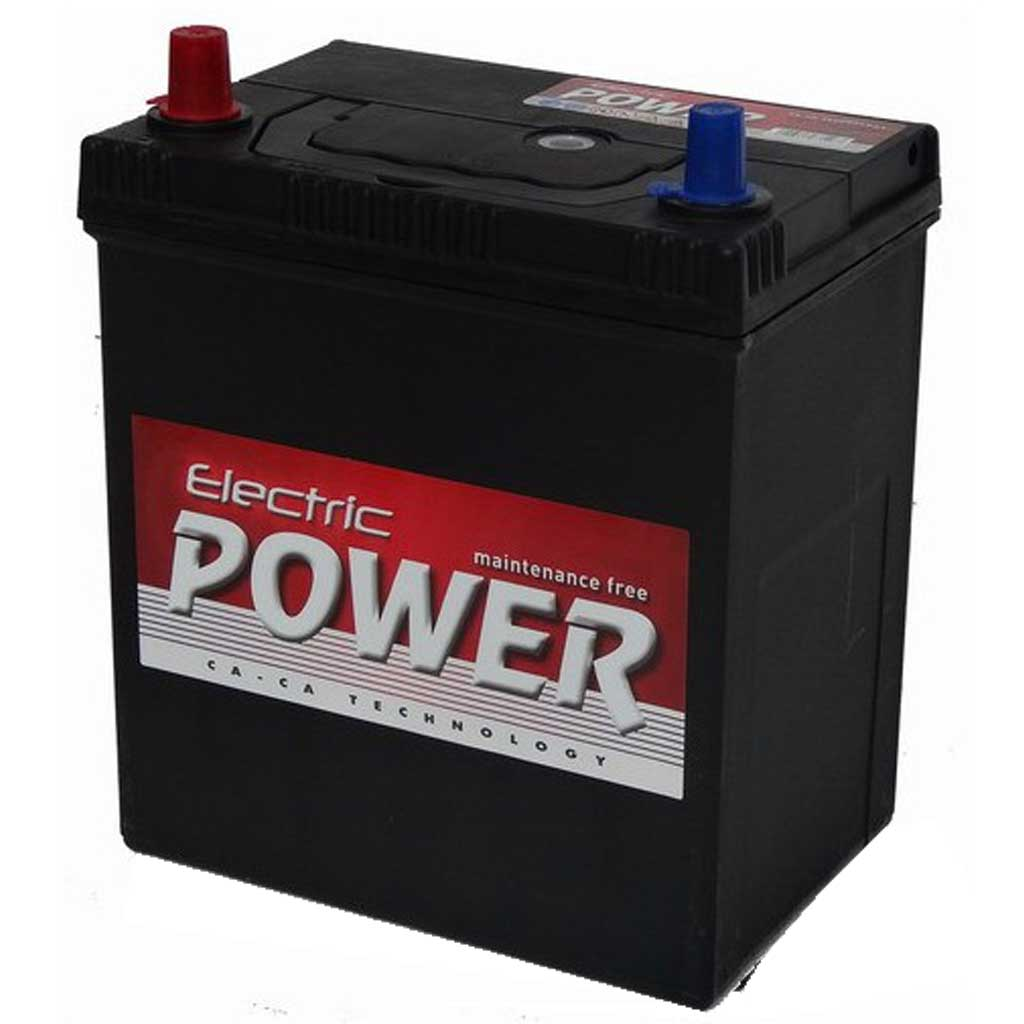 Electric Power akkumulátor, 12V 40AH 300A B+ Japán