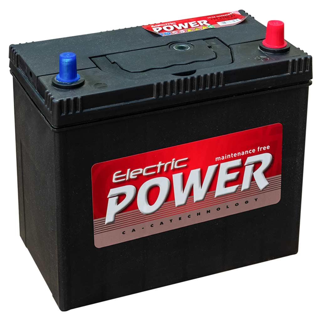 Electric Power akkumulátor, 12V 45Ah 430A J+ Japán
