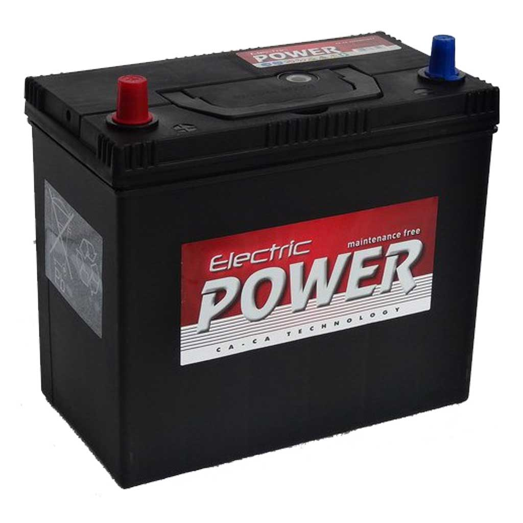 Electric Power akkumulátor, 12V 45Ah 430A B+ Japán