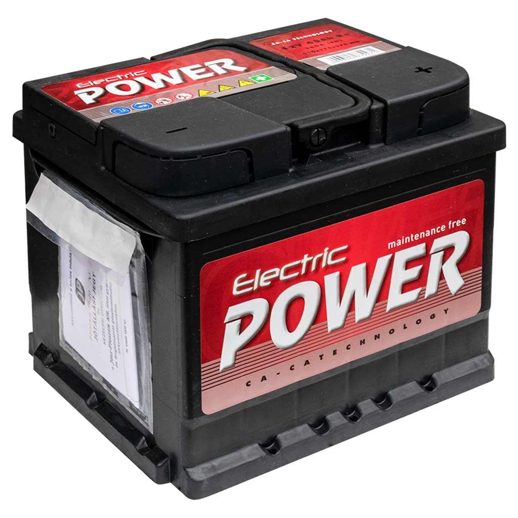 Electric Power akkumulátor, 12V 45Ah 360A J EU, gázrekombinációs, alacsony