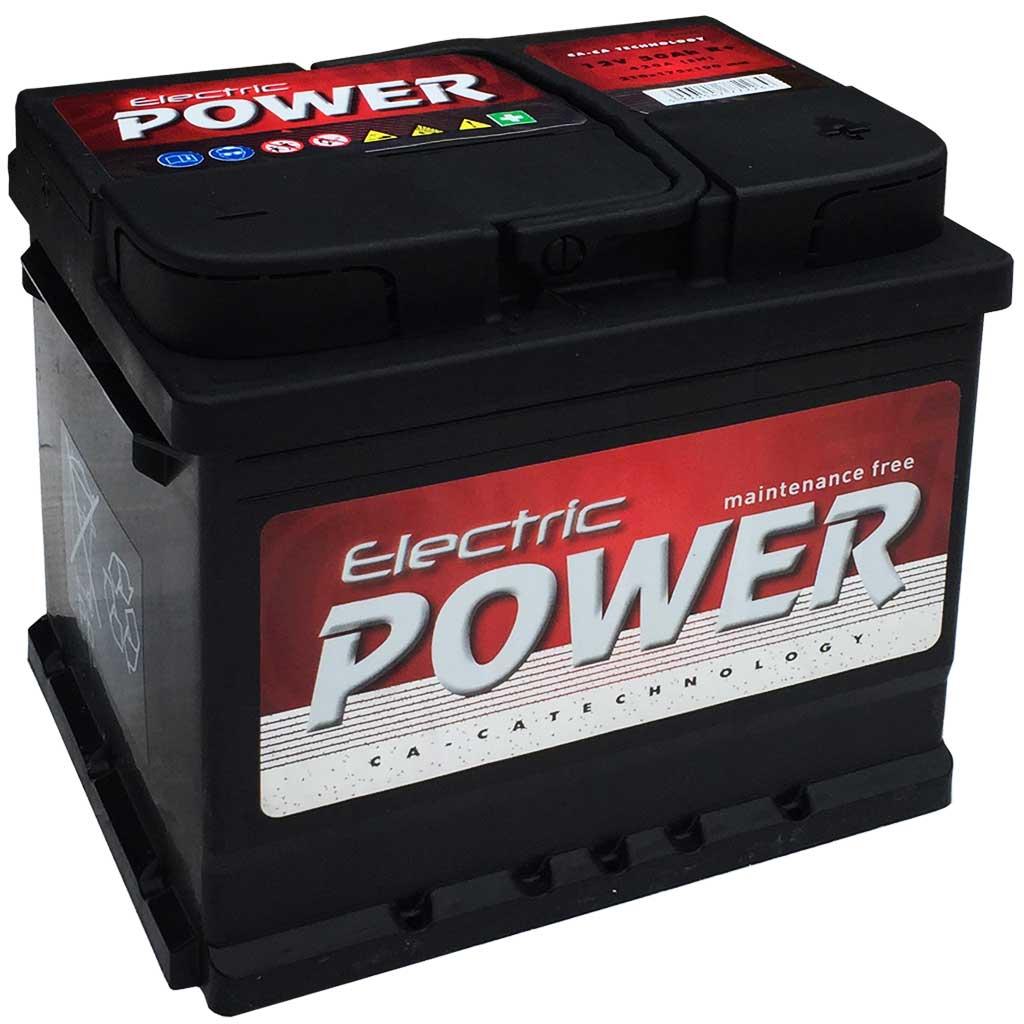 Electric Power akkumulátor, 12V 50Ah 420A J+ EU, gázrekombinációs, magas