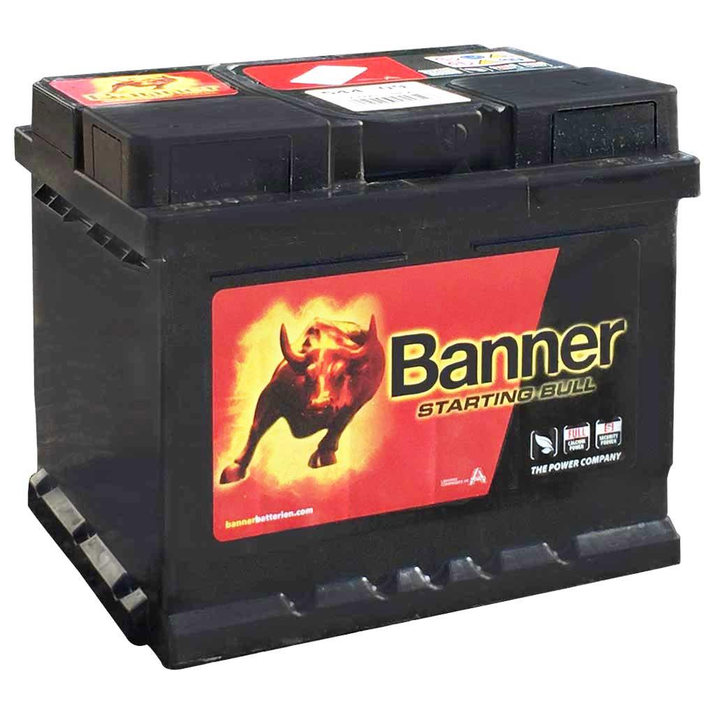 Banner Starting Bull akkumulátor, 12V 44Ah 360A J+, EU, alacsony