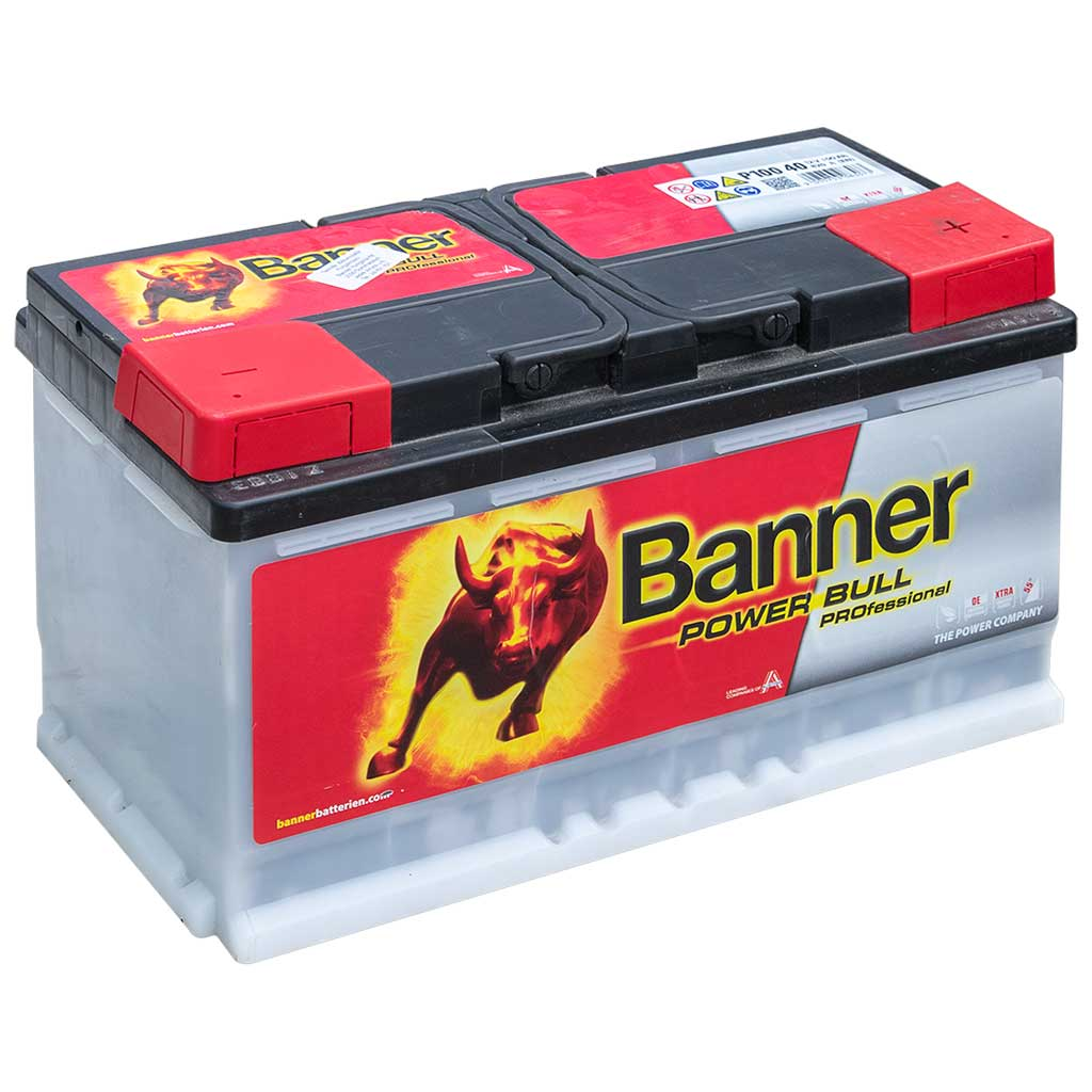 Banner Power Bull Professional akkumulátor,12V 100AH 820A J+ EU, magas