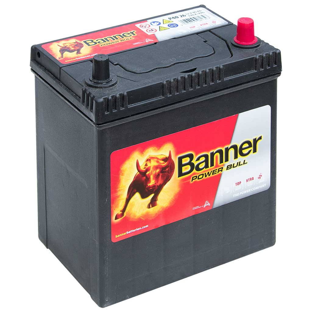 Banner Power Bull akkumulátor, 12V 40Ah 330A J+, japán