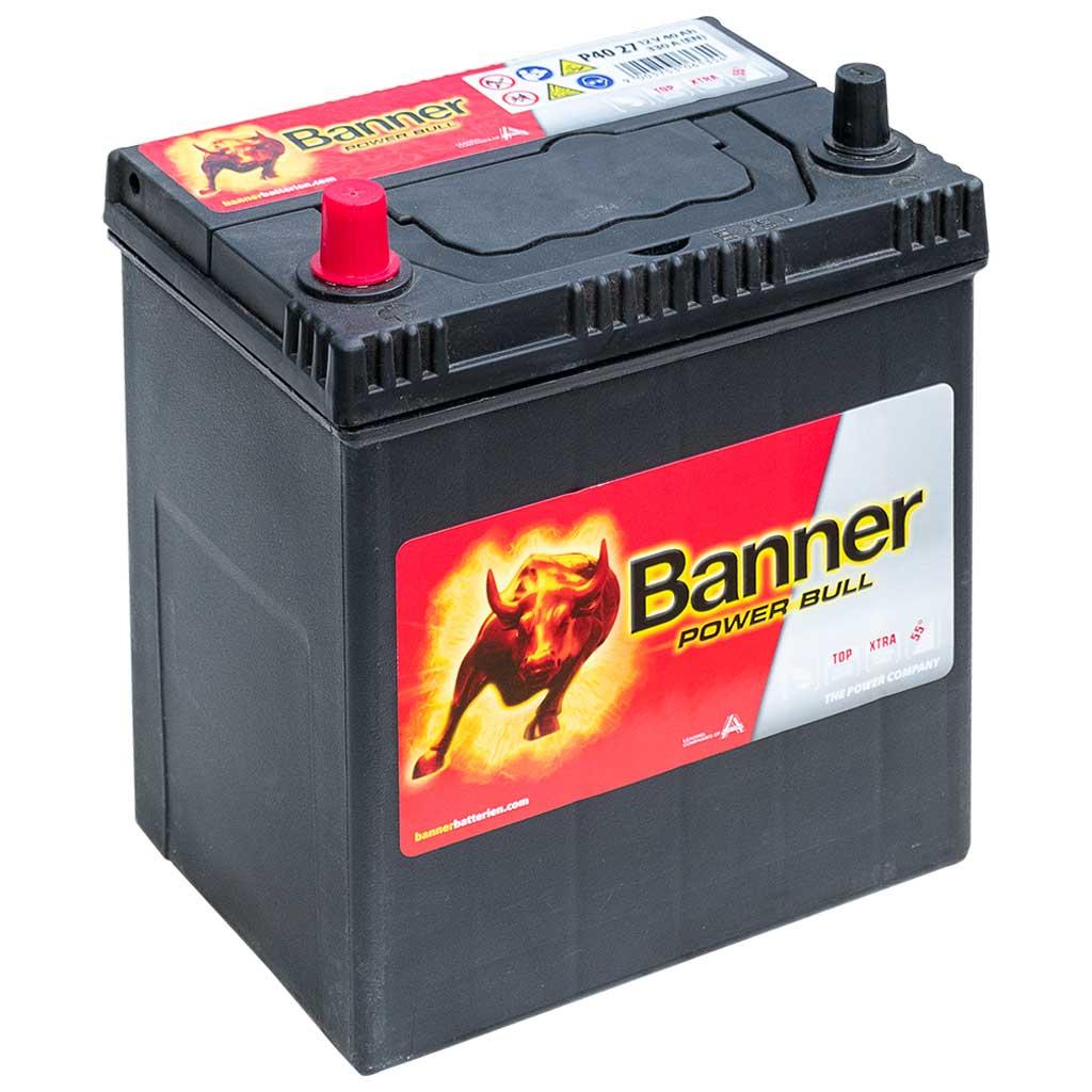 Banner Power Bull 12V 40AH 300A B+ Japán