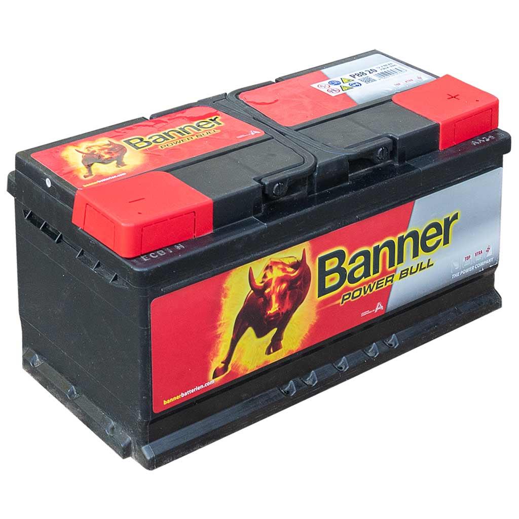 Banner Power Bull akkumulátor, 12V 88Ah 700A J+, EU, alacsony