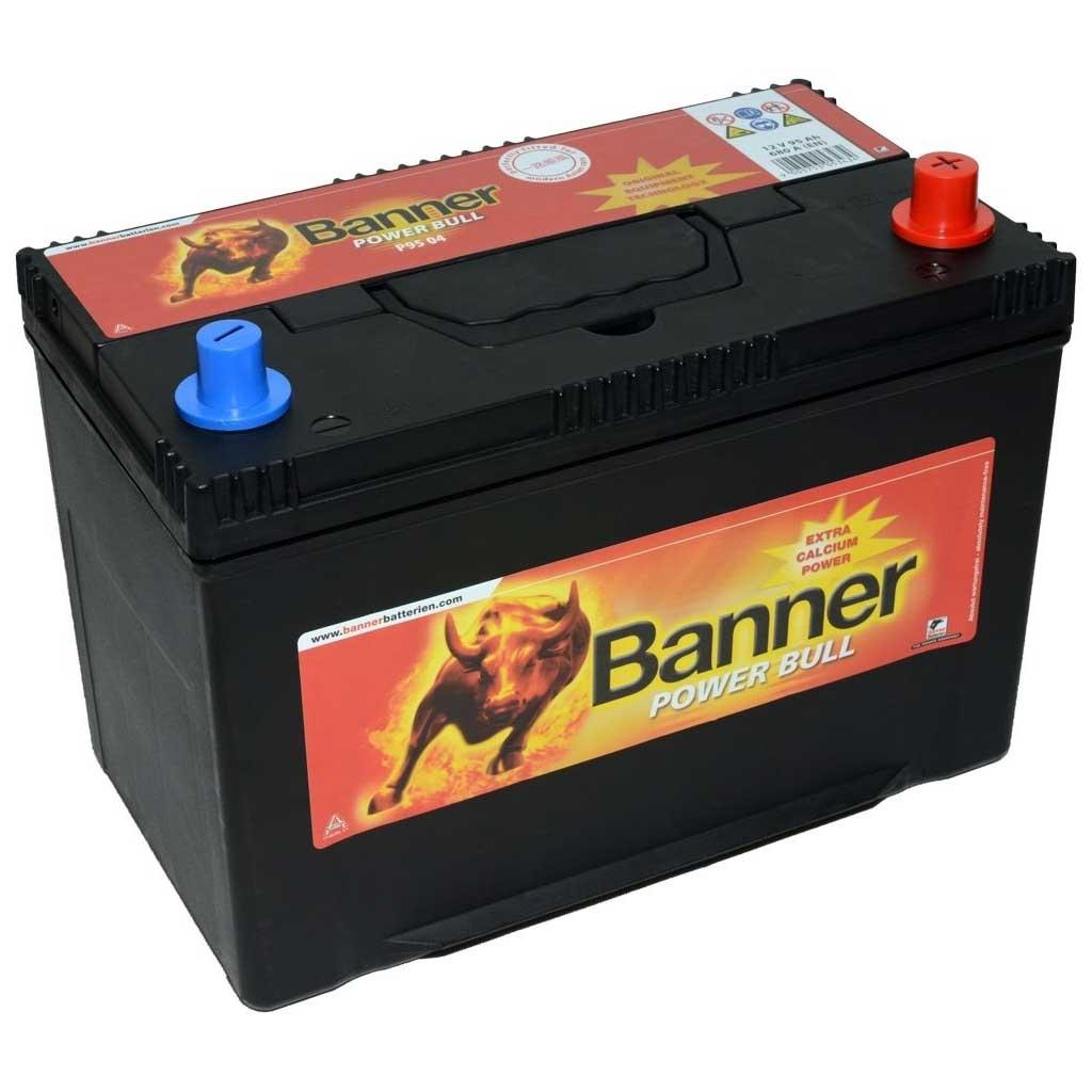 Banner Power Bull akkumulátor, 12V 95AH 740A J+ Japán