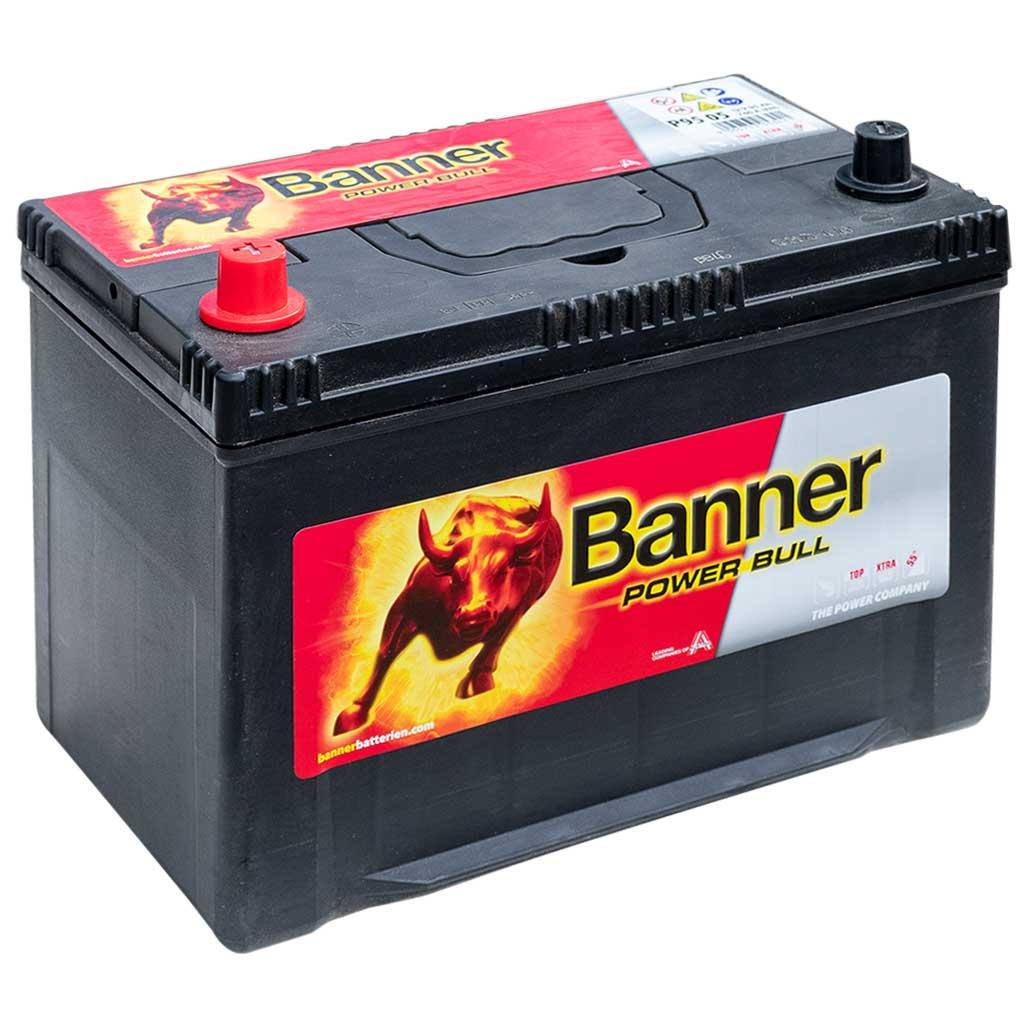 Banner Power Bull akkumulátor, 12V 95AH 740A B+ Japán