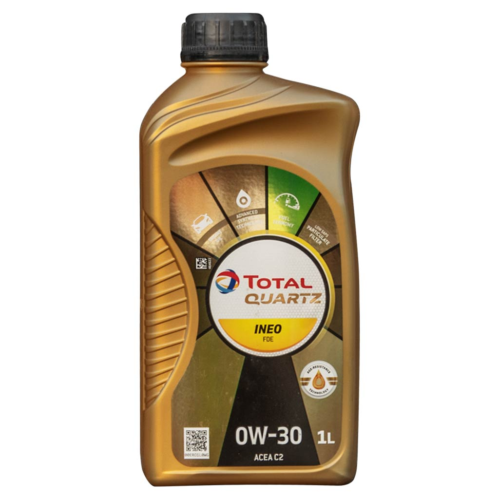 Total Quartz INEO FDE 0W-30 motorolaj, 1lit. (gyártó..