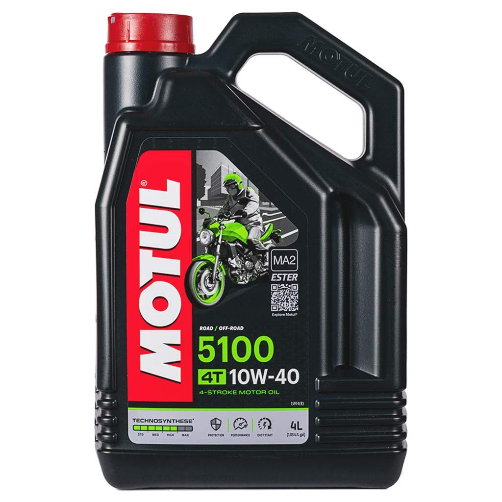 Motul 5100 4T 10W-40 motorolaj, 4lit 104068