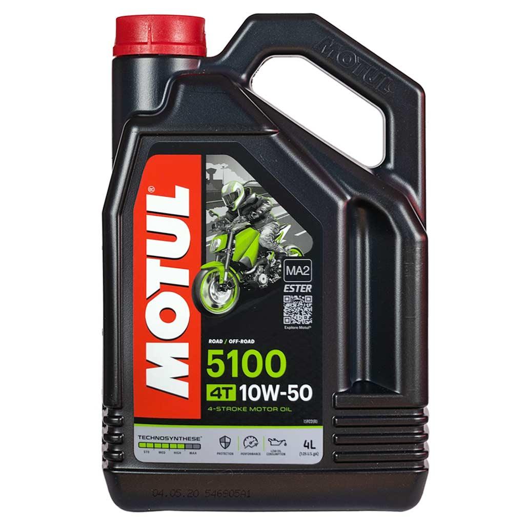 Motul 5100 4T 10W-50 motorolaj, 4lit 104076