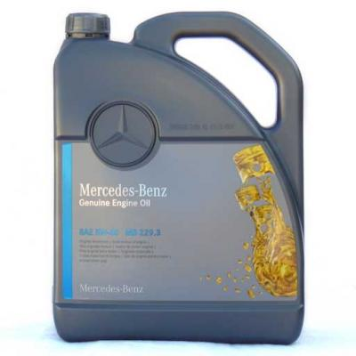 Mercedes-Benz Genuine Motor Oil SAE 5W-40 MB229.3 5lit