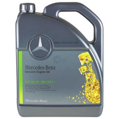 Mercedes-Benz Genuine Motor Oil SAE 5W-30 MB229.51 5lit