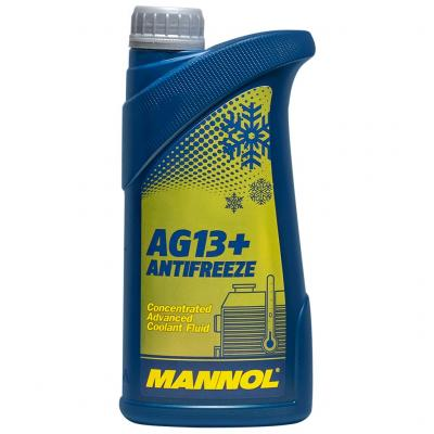 Mannol 4114-1 - AG13+ Advanced Antifreeze fagyálló koncentrátum, sárga, 1lit.