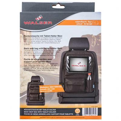 b0d51d092e54 Tároló táska háttámlára, tablet tartóval