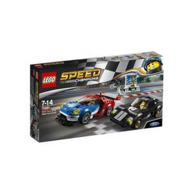 75881 Lego Speed Champions 2016 Ford GT and 1966 Ford GT40, 2016 Ford GT és 1966 Ford GT40