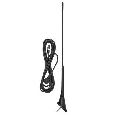 Antenna 40 cm, 5 mm, 3 m kábel, DIN (VW Golf) fix