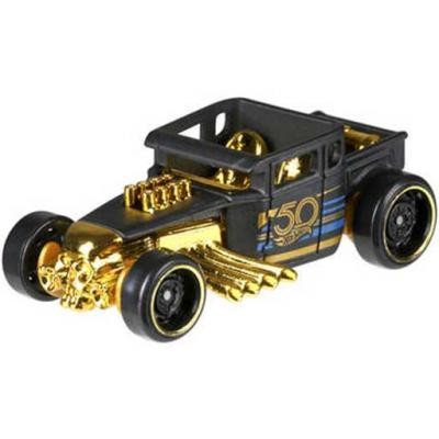 Hot wheels témaautó - A BLACK & GOLD 50. évfordulója