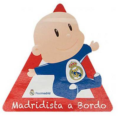 "Matrica ""Baba a fedélzeten"", Real Madrid"