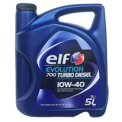 Elf Evolution 700 Turbo Diesel 10W-40 motorolaj, 5lit