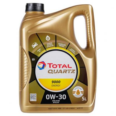 Total Quartz 9000 Energy 0W-30 motorolaj, 5lit.
