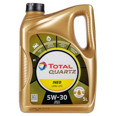 Total Quartz INEO Long Life 5W-30 motorolaj, 5lit.