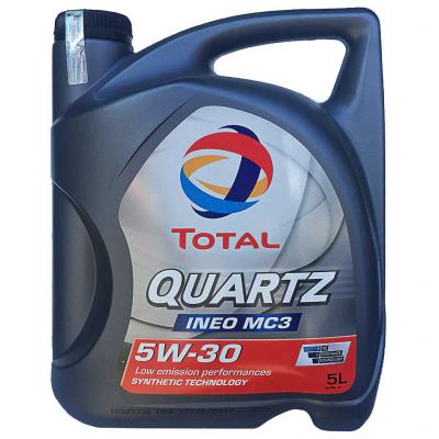 Total Quartz INEO MC3 5W-30 motorolaj, 5lit.