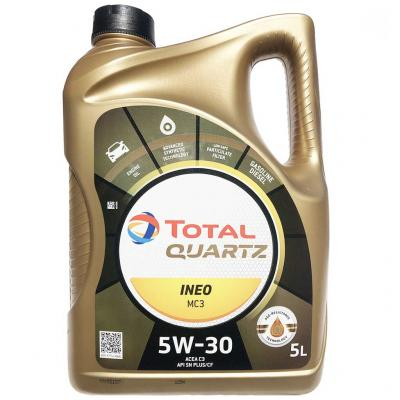 Total Quartz INEO MC3 5W-40 motorolaj, 5lit.
