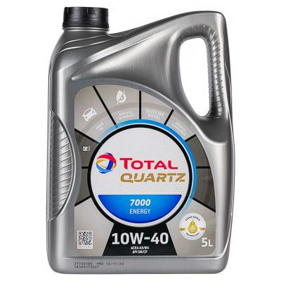 Total Quartz 7000 Energy 10W-40 motorolaj, 5lit