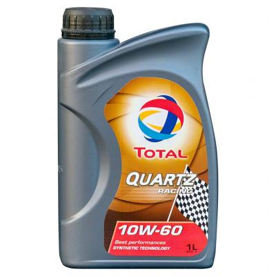 Total Quartz Racing 10W-60 motorolaj, 1lit